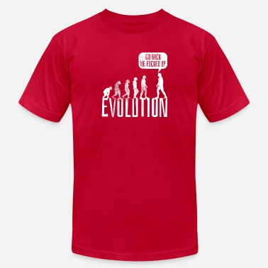 Fucking Evolution EVOLUTION - Men's Fine Jersey T-Shirt