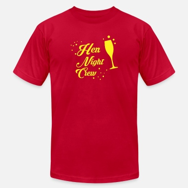 Bachelor Crew Hen Night Crew - Men's Jersey T-Shirt