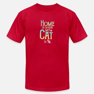 Devotee Cat Enthusiast Animal Devotee Gift Idea Gift - Unisex Jersey T-Shirt