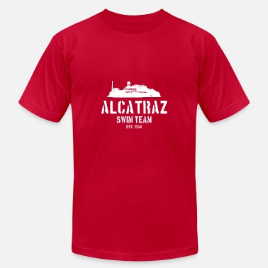 Swim Alcatraz Swim Team - 1934 - California Prison Jail - Unisex Jersey T-Shirt