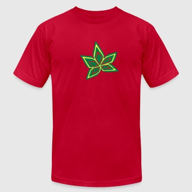 Cannabis Marijuana Leaf #2 (3colors) - Men's Fine Jersey T-Shirt