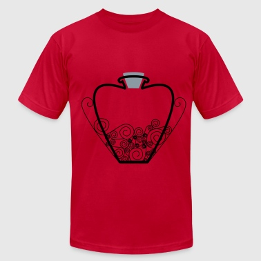 Heart Vial - Men's Fine Jersey T-Shirt