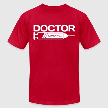 doctor loading... - Men's Fine Jersey T-Shirt
