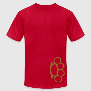 Brass Knuckle Knuckles - Men's Fine Jersey T-Shirt