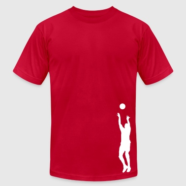 volleyball setter - Men's Fine Jersey T-Shirt