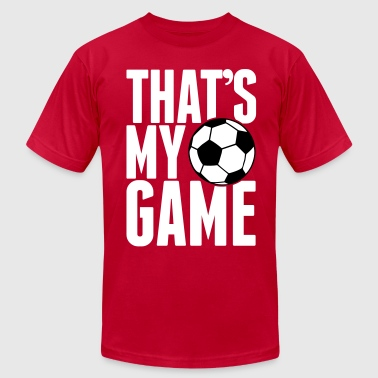 soccer - that's my game - Men's Fine Jersey T-Shirt