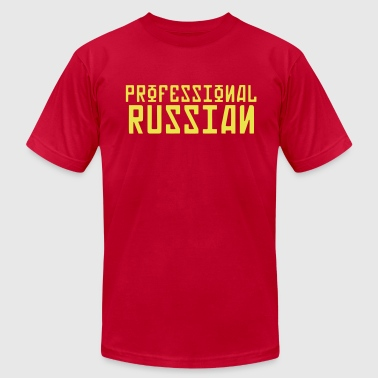 FPS Russia Professional Russian MP Hoodies - Men's Fine Jersey T-Shirt