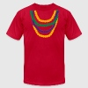 Mardi Gras Beads - Men's Fine Jersey T-Shirt
