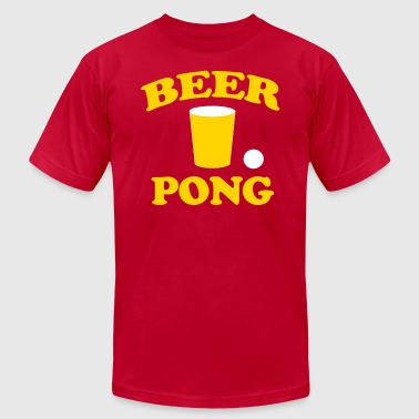 Beer Pong - Men's Fine Jersey T-Shirt