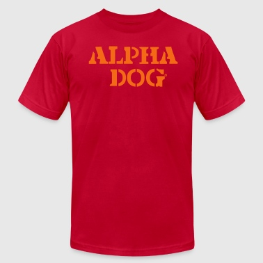 ALPHA DOG - Men's Fine Jersey T-Shirt