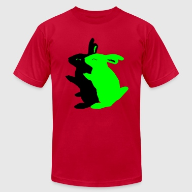 sex   rabbits - Men's Fine Jersey T-Shirt