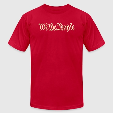 We the People US Constitution - Men's Fine Jersey T-Shirt