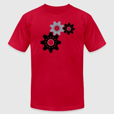 Cog Mechanic working cogs - Men's Fine Jersey T-Shirt