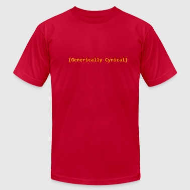 generically cynical - Men's Fine Jersey T-Shirt
