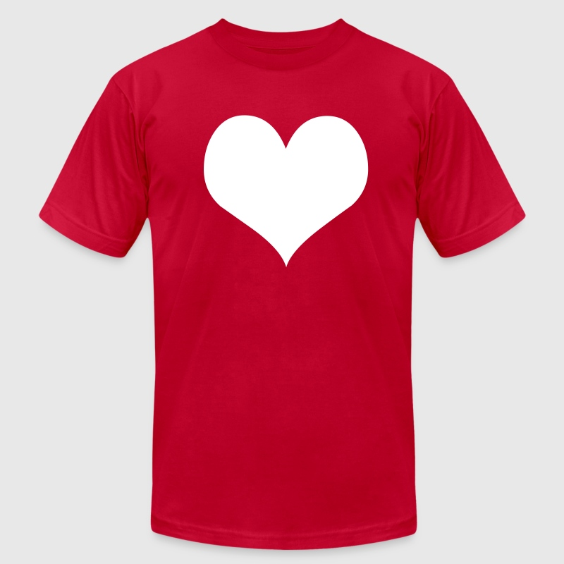 Heart - Men's Fine Jersey T-Shirt