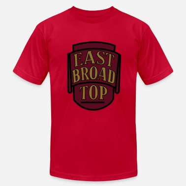 Narrow Gauge East Broad Top - 3 color - Men's Jersey T-Shirt