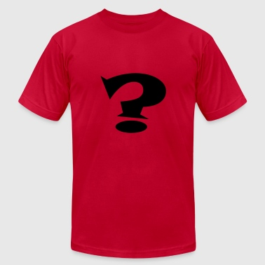 Question Mark? - Men's Fine Jersey T-Shirt