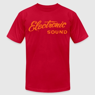 electronic - Men's Fine Jersey T-Shirt