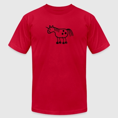 Unicorn - mythical creature - Men's Fine Jersey T-Shirt
