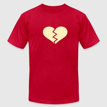 Broken heart - Men's Fine Jersey T-Shirt