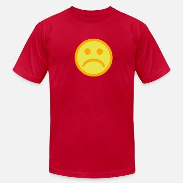 Funny-sad-face Sad Face - Men's  Jersey T-Shirt