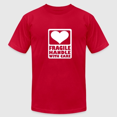 Fragile Handle with care - Men's Fine Jersey T-Shirt