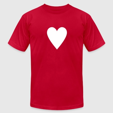 Card game-Playing Card-Hearts-Rummy-Canasta-Poker - Men's Fine Jersey T-Shirt