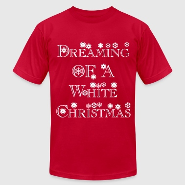 dreaming_of_a_white_christmas1 - Men's Fine Jersey T-Shirt