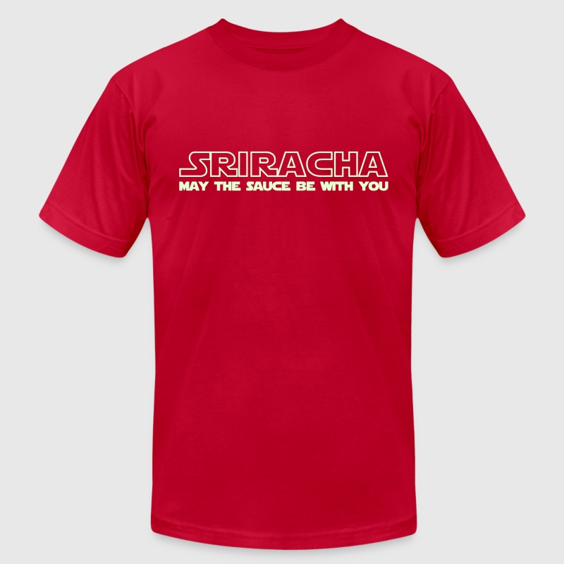 Sriracha May The Sauce Be With You - Men's Fine Jersey T-Shirt