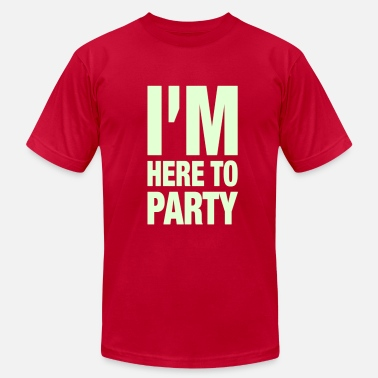 Mardi Gras I'm Here To Party - Men's  Jersey T-Shirt