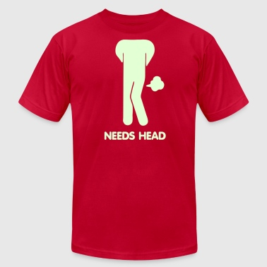 Pooping Asian Sorry for Farting Needs Head - Men's Fine Jersey T-Shirt