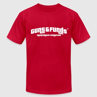 Guns & Funds - Men's Fine Jersey T-Shirt