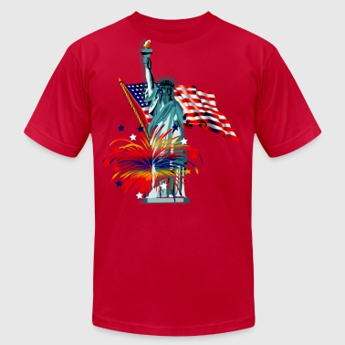 Patriotic - Men's Fine Jersey T-Shirt