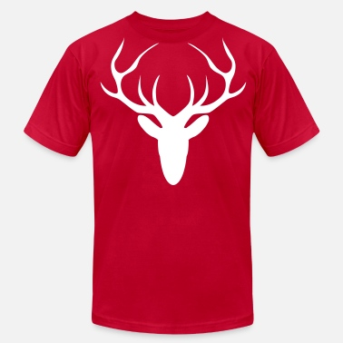 Stag stag head - Men's  Jersey T-Shirt