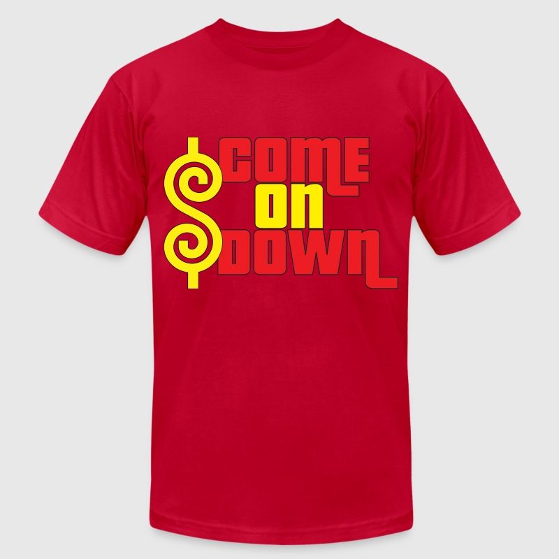 Come On Down - Men's Fine Jersey T-Shirt