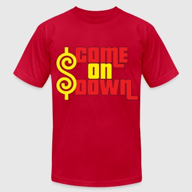 Falling Down Come On Down - Men's Fine Jersey T-Shirt