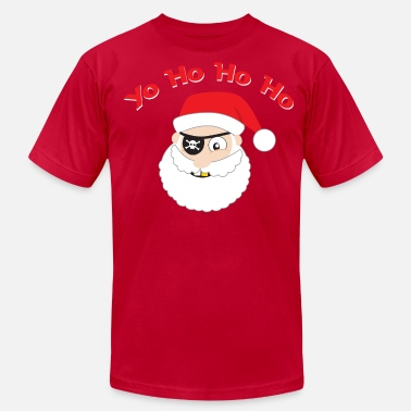 Ugly Pirate Santa - Men's Jersey T-Shirt