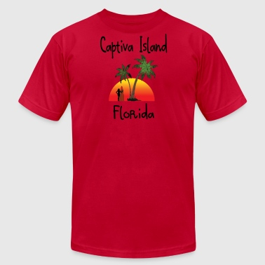 captiva island florida - Men's Fine Jersey T-Shirt