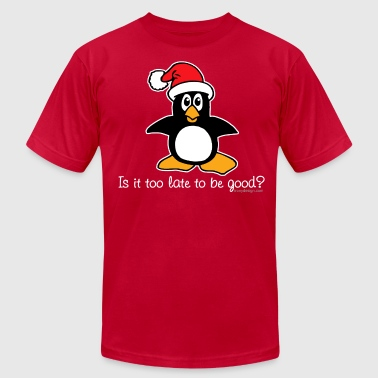 Christmas Design Is It Too Late To Be Good? - Men's Fine Jersey T-Shirt