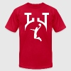 LJ custom logo - Men's Fine Jersey T-Shirt