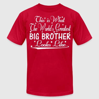 Worlds Greatest Big Brother World's Greatest Big Brother... - Men's Fine Jersey T-Shirt
