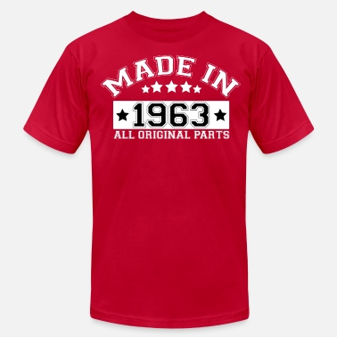 Vintage 1963 MADE IN 1963 ALL ORIGINAL PARTS - Men's  Jersey T-Shirt