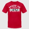 MADE IN 1942 ALL ORIGINAL PARTS - Men's Fine Jersey T-Shirt
