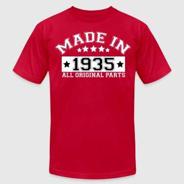 MADE IN 1935 ALL ORIGINAL PARTS - Men's Fine Jersey T-Shirt