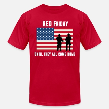 Project RED Friday Men's American Apparel  - Men's  Jersey T-Shirt