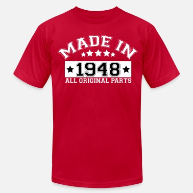 1948 All Original Parts MADE IN 1948 ALL ORIGINAL PARTS - Men's Jersey T-Shirt