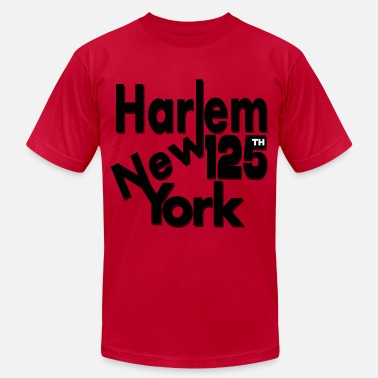 Harlem-new-york Harlem New York - Men's Fine Jersey T-Shirt