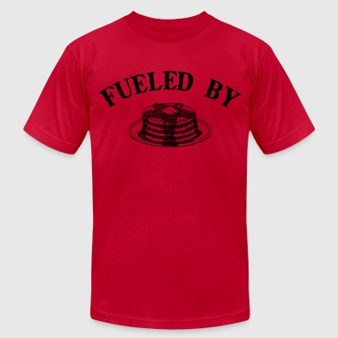 Fueled by Pancakes - Men's Fine Jersey T-Shirt