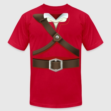Link Red Tunic (Skyward Sword) - Front Only - Men's Fine Jersey T-Shirt