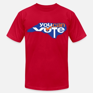 501c3 You Can Vote - Men's  Jersey T-Shirt